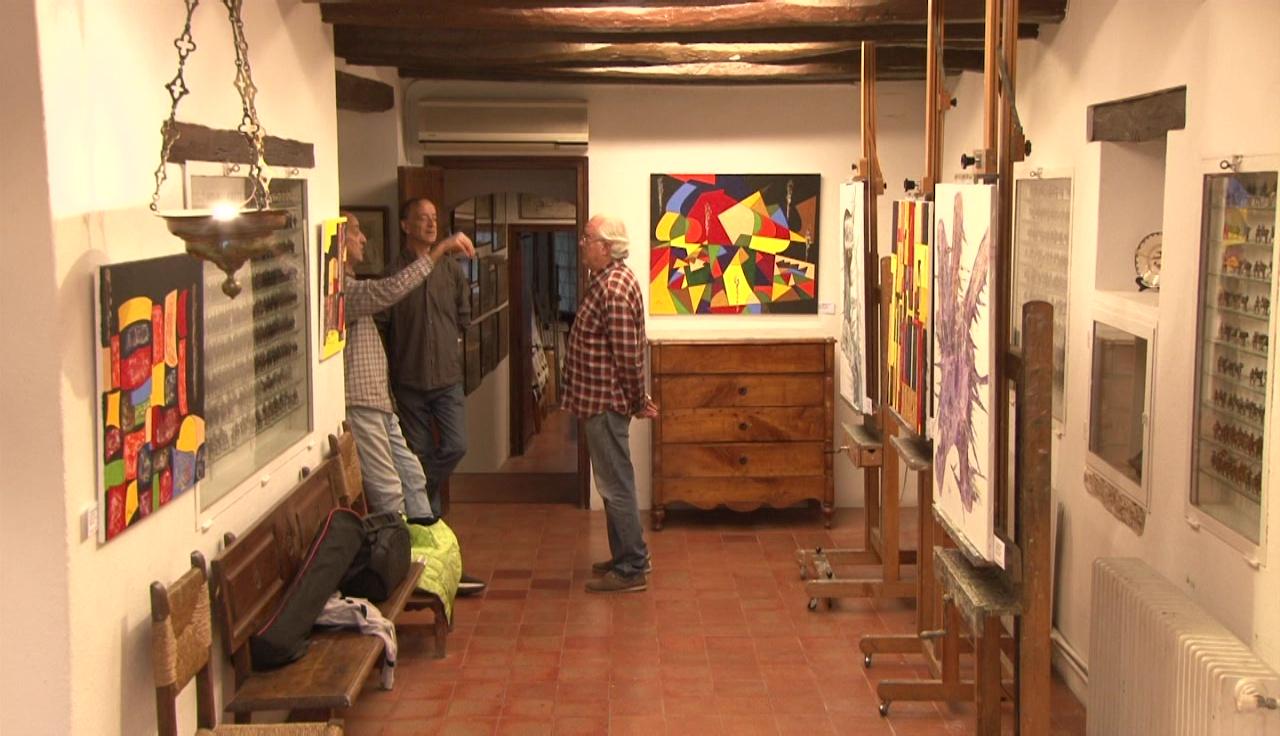 Jordi Puig exposa al taller Joan de Palau durant les Festes de Sant Martirià