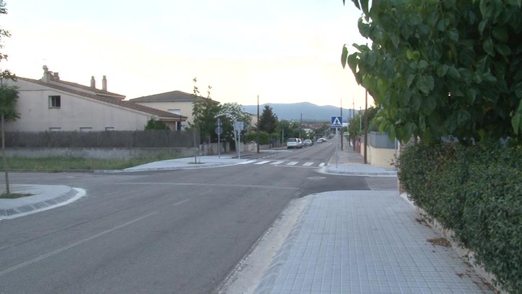 A punt la segona fase de la carretera de Fontcoberta
