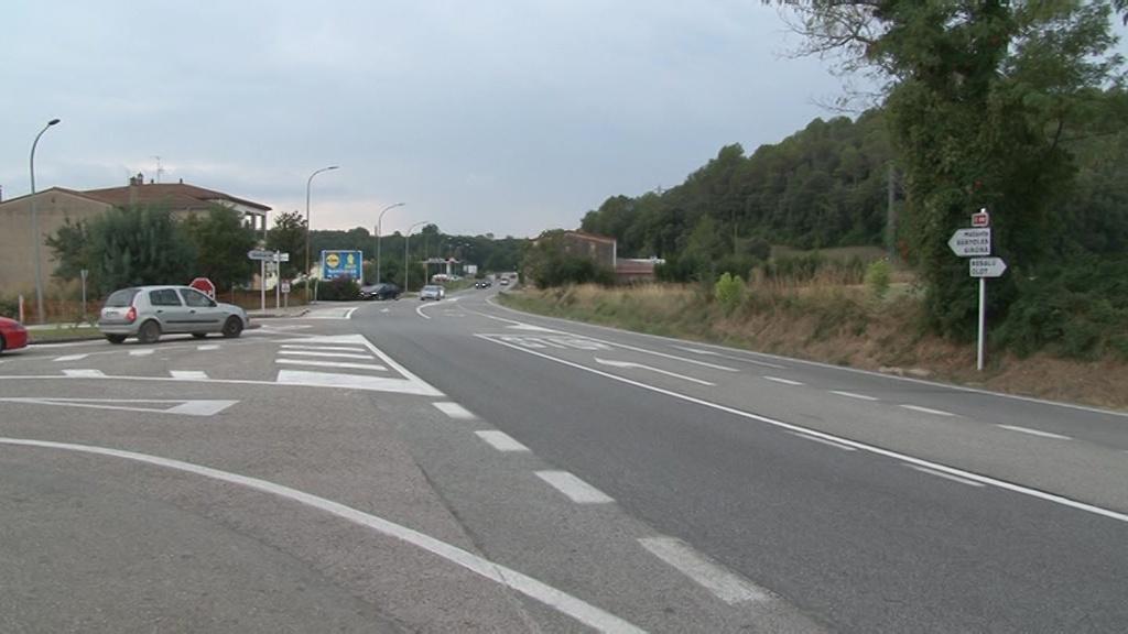 Comencen les obres de la C-66 entre Serinyà i Besalú