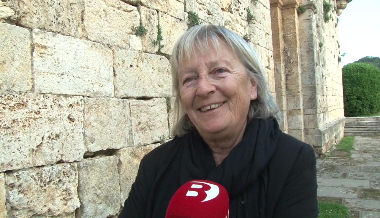 Anna Maria Garcia, cap de llista de Junts per Crespià