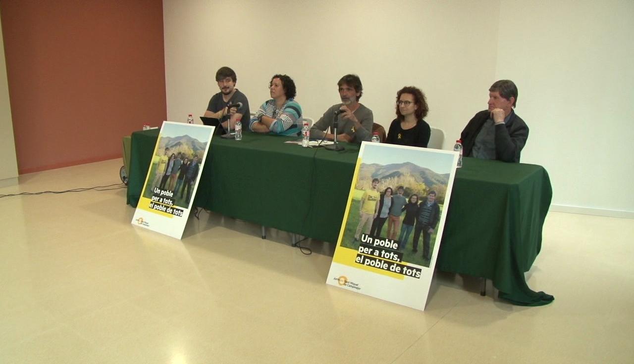 ERC – Sant Miquel de Campmajor presenta els seus candidats