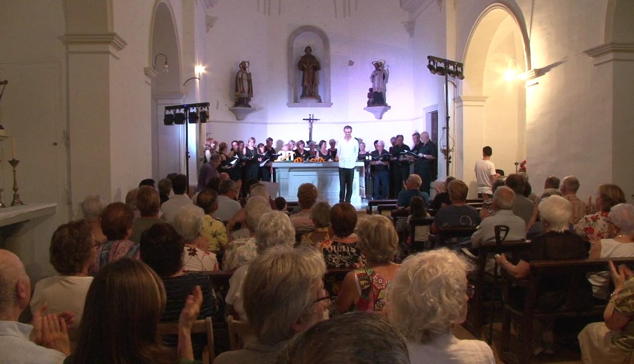 Concert d'aniversaris a l'església de Sant Romà de Miànigues