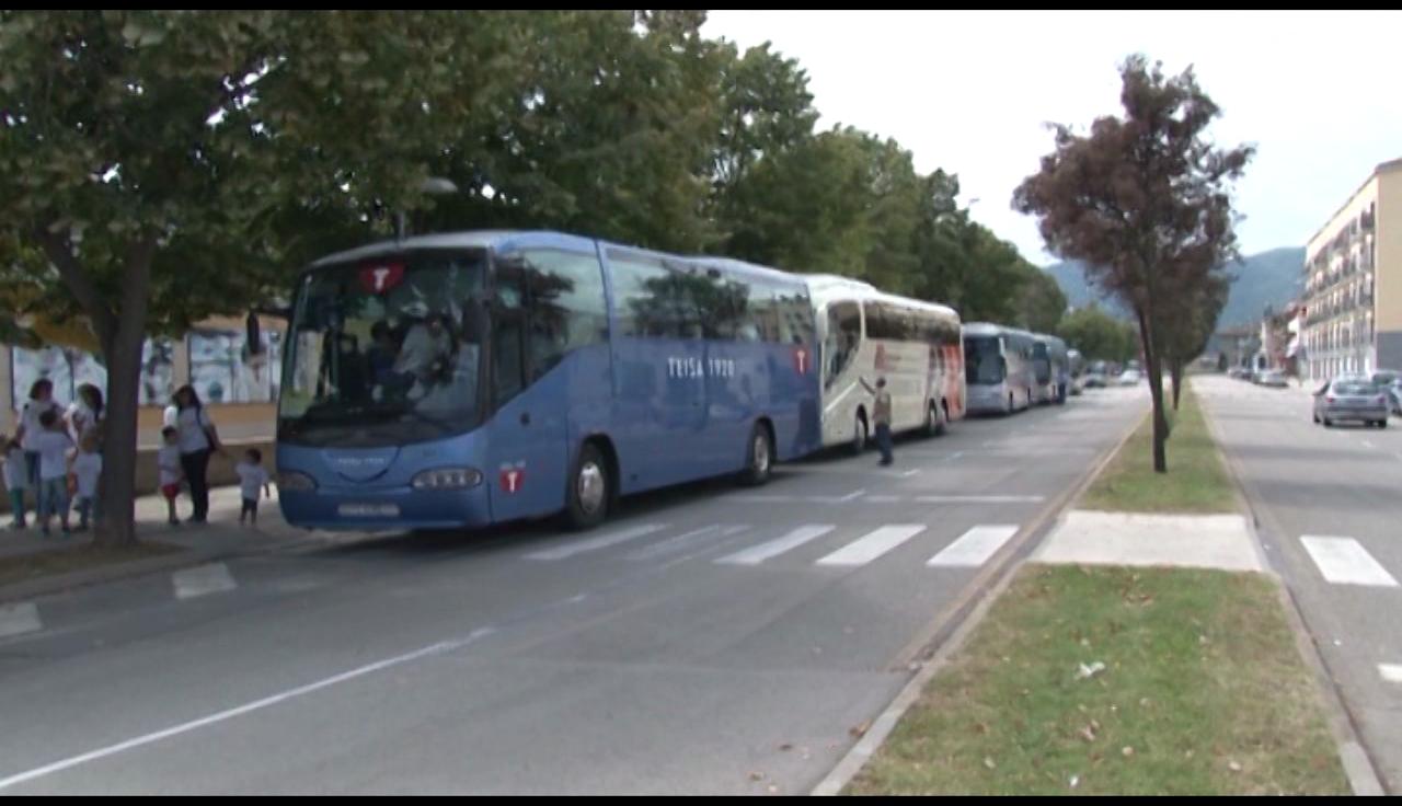 L'ANC Pla de l'Estany posa a la venda els tiquets d'autobús per anar a Estrasburg l'1 de juliol