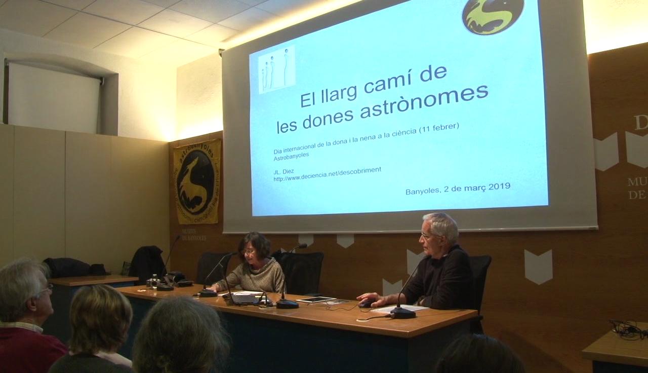 Astrobanyoles homenatja les dones a la ciència amb un recull de dones astrònomes