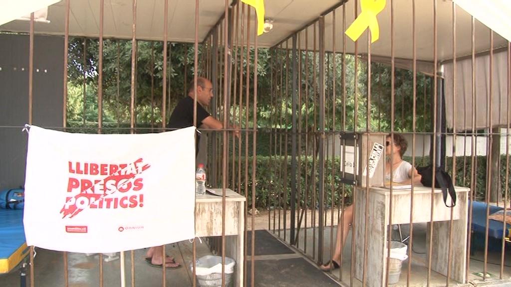 """La iniciativa """"Un poble empresonat"""" passa per Cornellà del Terri"""