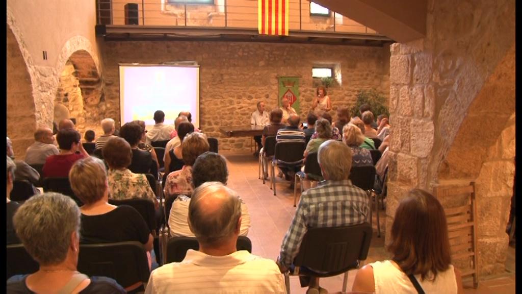 Fontcoberta comença la Festa Major amb el pregó del veí Josep Vilà Moretó