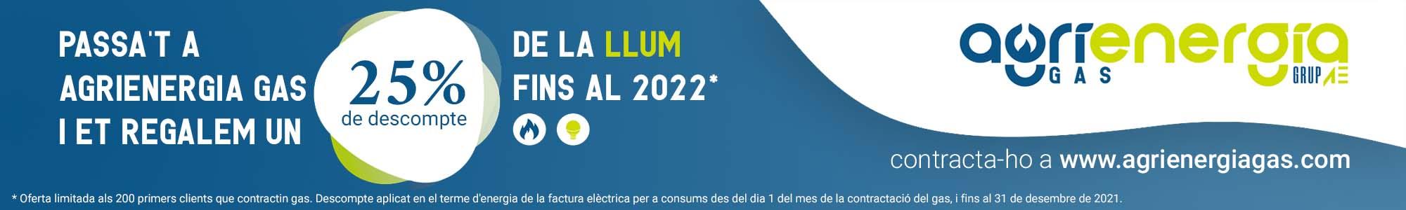 Agrienergia Gas promo octubre 2021