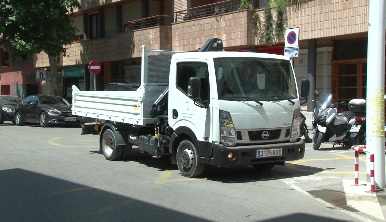 La brigada municipal de Banyoles estrena nou vehicle